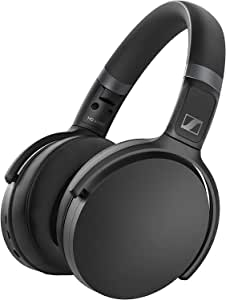 Sennheiser HD 450BT Black Active Noise Cancellation Over-Ear Headphones (HD 450BT)