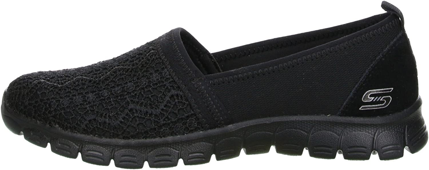SKECHERS, EZ FLEX 3.0 QUICK ESCAPADE Sportliche Slipper, grau