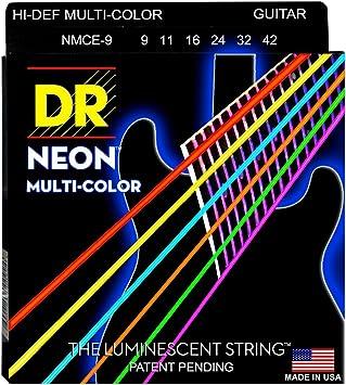 DR NMCE-9 - Cuerdas para guitarras eléctricas: Amazon.es: Instrumentos musicales