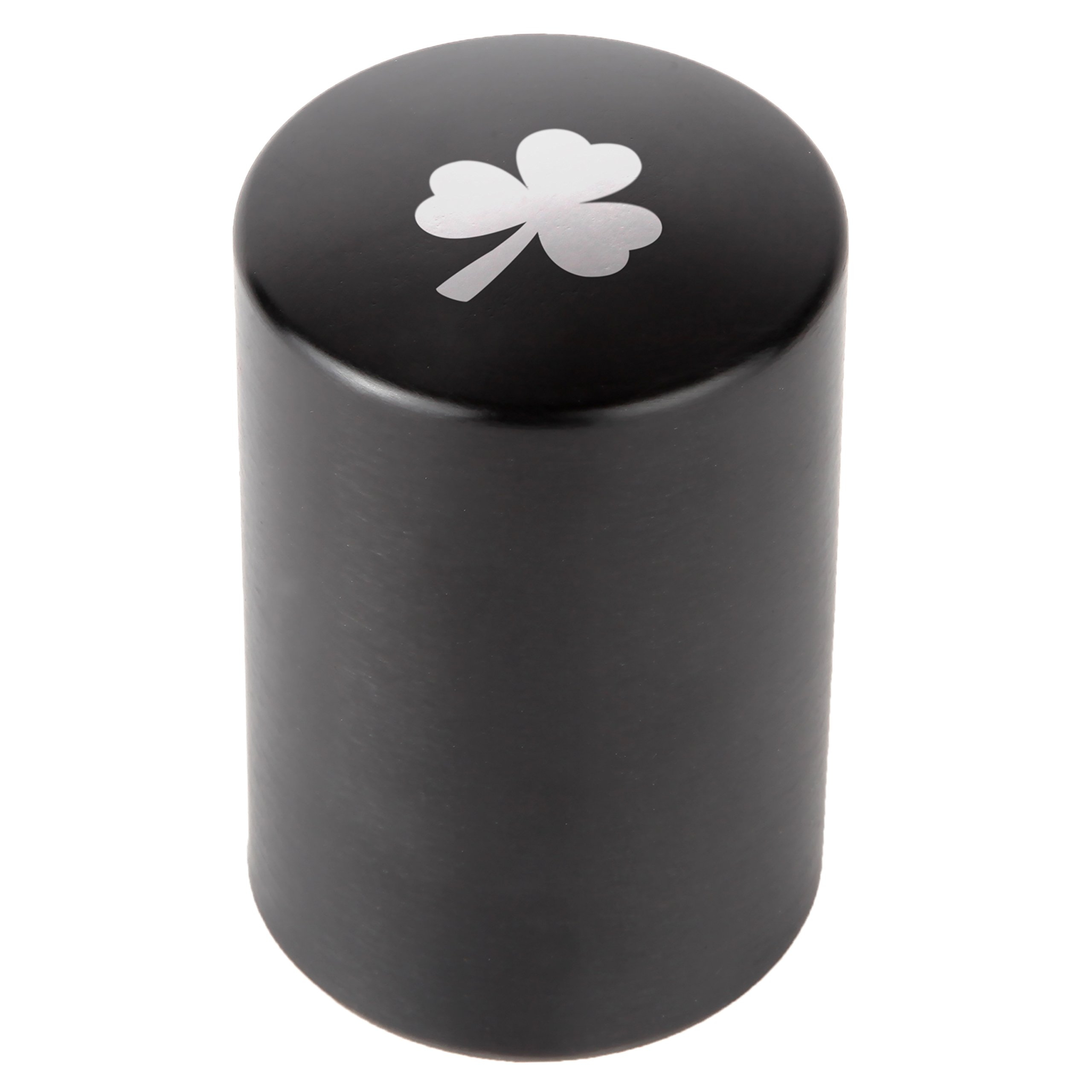 Clover Automatic Bottle Opener - Laser Etched Design - Bottle Opener With Catcher - Fast Bottle Opener For Parties, Events Or Everyday Use