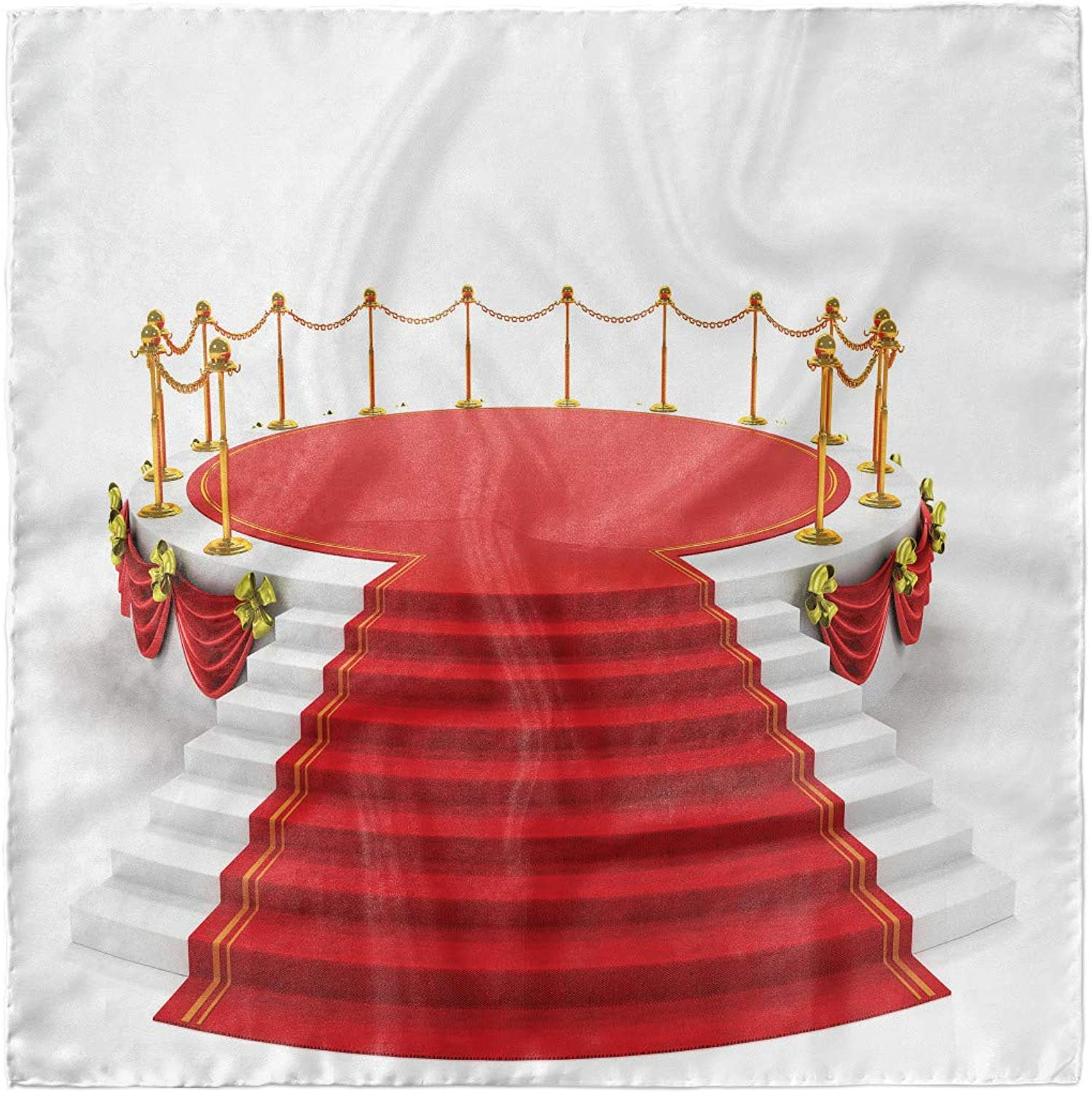 Hijab Scarf Ambesonne Theatre Headscarf Round Stage with Stairs