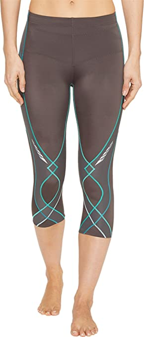 Amazon.com : CW-X Women's 3/4 Length Stabilyx Tights : Running ...