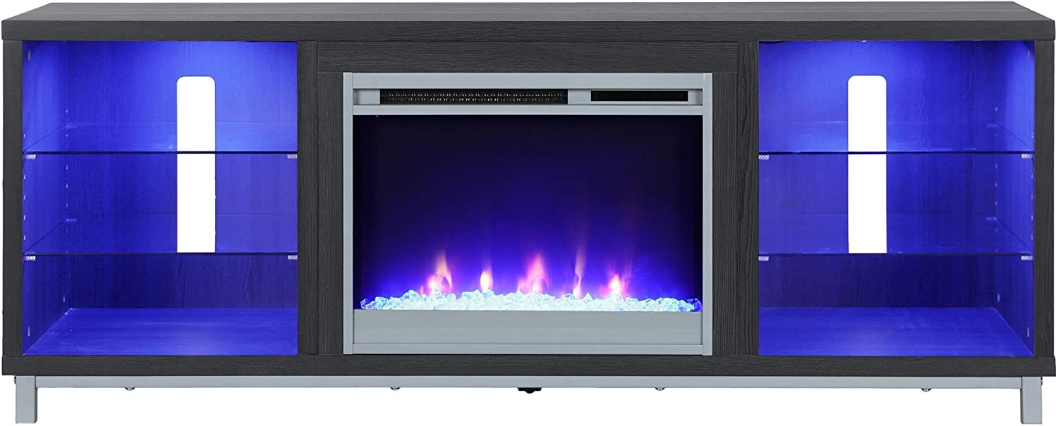 Ameriwood Home Lumina Fireplace Stand for TVs