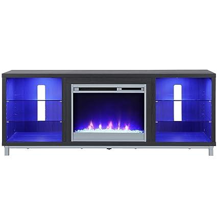 Amazon Com Ameriwood Home 1822196com Lumina Fireplace Stand For For