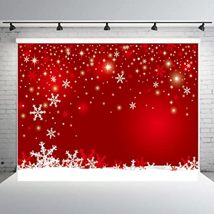 Amazon.com  7x5ft Red Winter Photography Backdrops