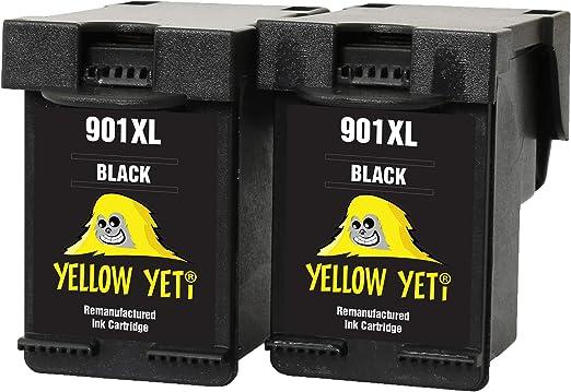 Yellow Yeti Ersatz Für Hp 901xl 901 Xl Druckerpatronen Schwarz Kompatibel Für Hp Officejet 4500 G510a G510g G510n J4500 J4524 J4535 J4540 J4550 J4580 J4585 J4600 J4624 J4640 J4660 J4680 J4680c Amazon De