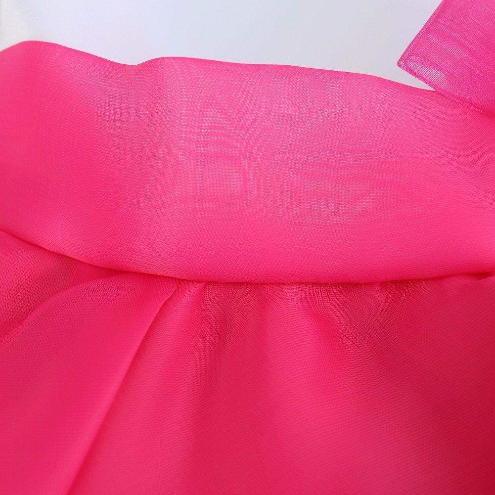 IEFIEL Vestido de Bautizo Princesa para Beb/é Ni/ña Reci/én Nacido Organza Vestido de Fiesta Flor 3-24 Meses