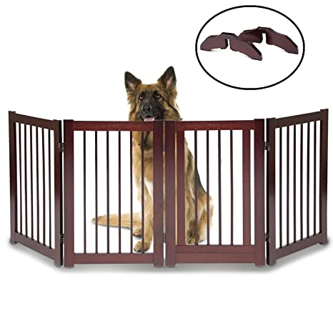 Amazon Wooden Dog Gates For The House Extra Wide 30 H X 80