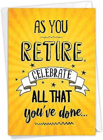 Digital Retirement Greeting  Card