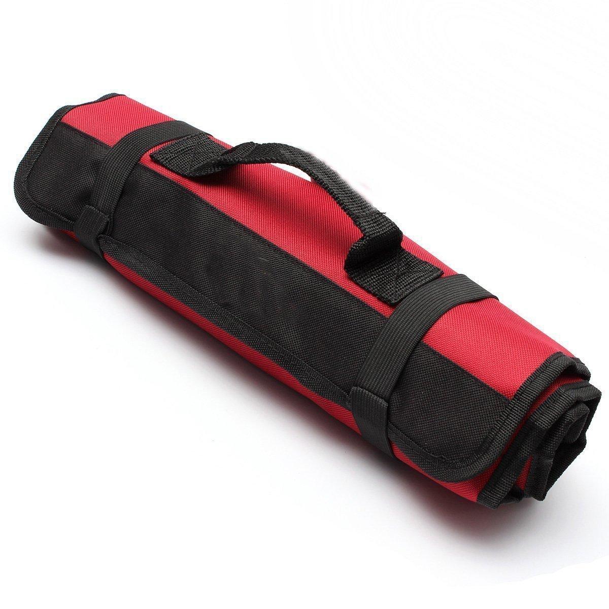 rot Yosso tragbare Werkzeugtasche mit 22/Taschen Tasche aus Stoff Oxford