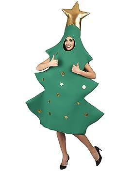 Disfraz Árbol Navidad es Adulto De Generique ÚnicaAmazon 3d fbv7gY6y