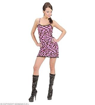 WIDMANN Disfraz de Disco Dancer años 70 rosa adulto Carnaval ...