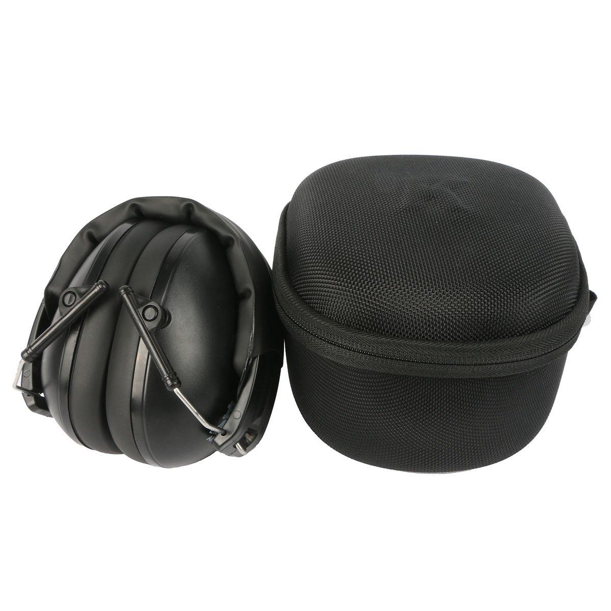 Para Orejeras Electrónicas para Caza 3M PELTOR SportTac protector auditivo EVA Duro Viaje Estuche Bolso Funda by Khanka: Amazon.es: Electrónica