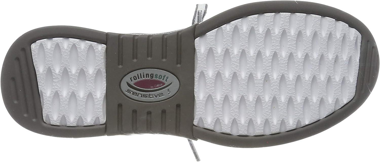 Gabor Damen Rollingsoft Sneaker Grau Altsilber Donkey K 15