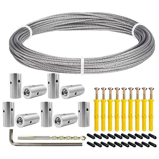 Sistema de enrejado de cable BLIKA para plantas trepadoras, vides ...