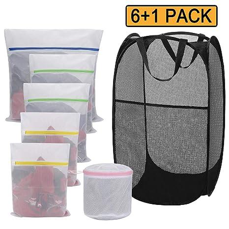 Amazon.com: Wish - Juego de bolsas de lavandería para cesta ...