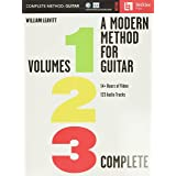 A Modern Method for Guitar: Volumes 1, 2, and 3 complete with 14 hours of video lessons and 123 audio tracks: Volumes 1, 2, a