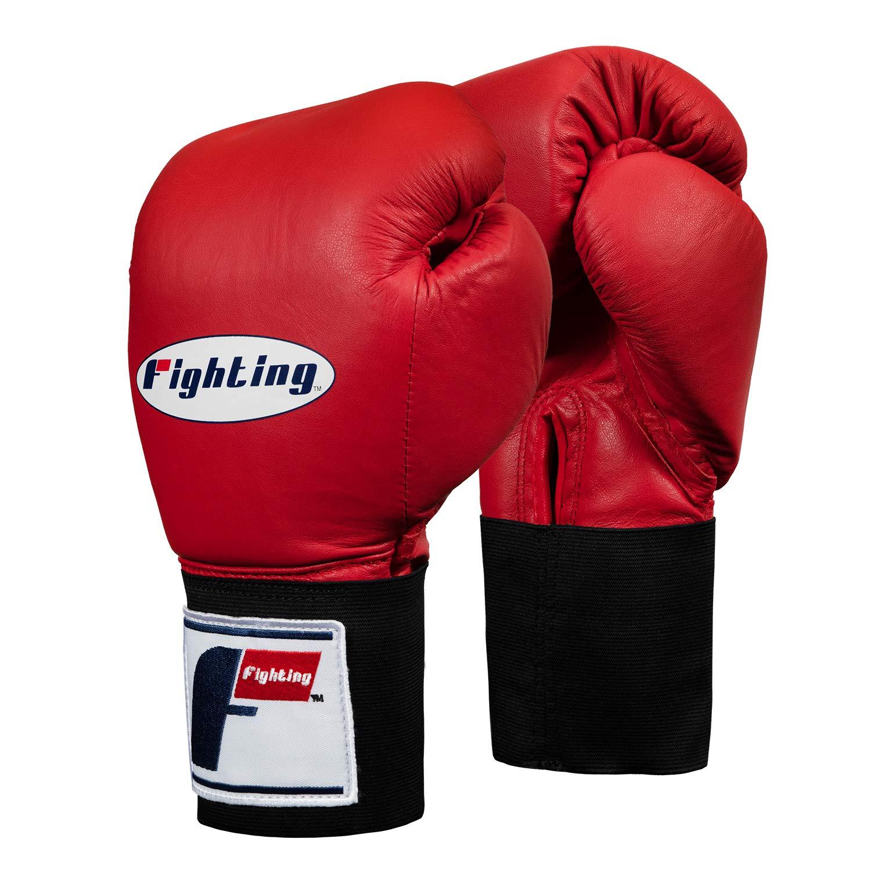 Fighting Sports USA Boxing Competitionグローブ – ゴム B00IXX9FSE レッド 12 oz