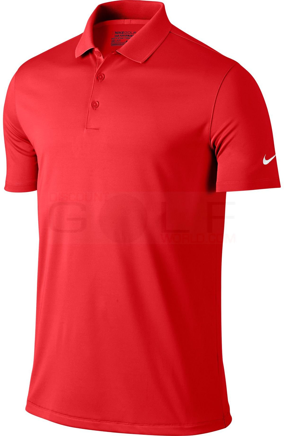 Nike Dri Fit Golf Polo 818050 657 Red Size Large