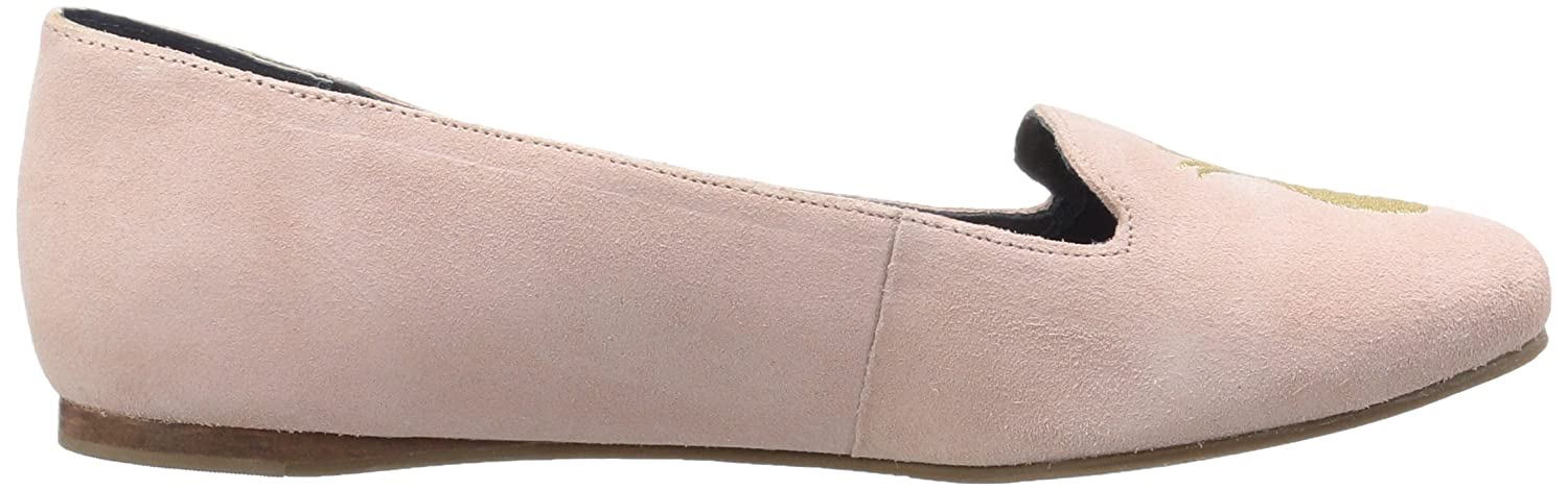 Jack Rogers Womens Anice Suede Ballet Flat