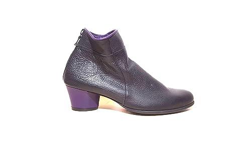 Para Lisa Vestir Piel Arche Mujer Zapatos De NegrolilaAmazon dBrCtxoshQ