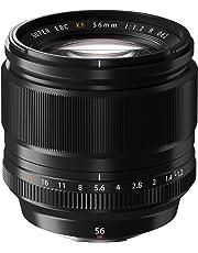 Fujifilm Fujinon XF 56 mm f/1.2 R - Objetivo para Fujifilm con Montura X (Distancia Focal Fija de 56 mm, Apertura f/1.2, tamaño del Filtro de 62 mm), Color Negro