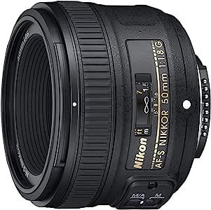 Nikon AF-S 50mm f1.8G, Black