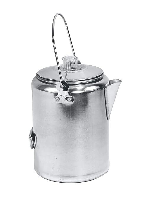 Texsport Aluminio 9 Taza de Filtro cafetera eléctrica para ...