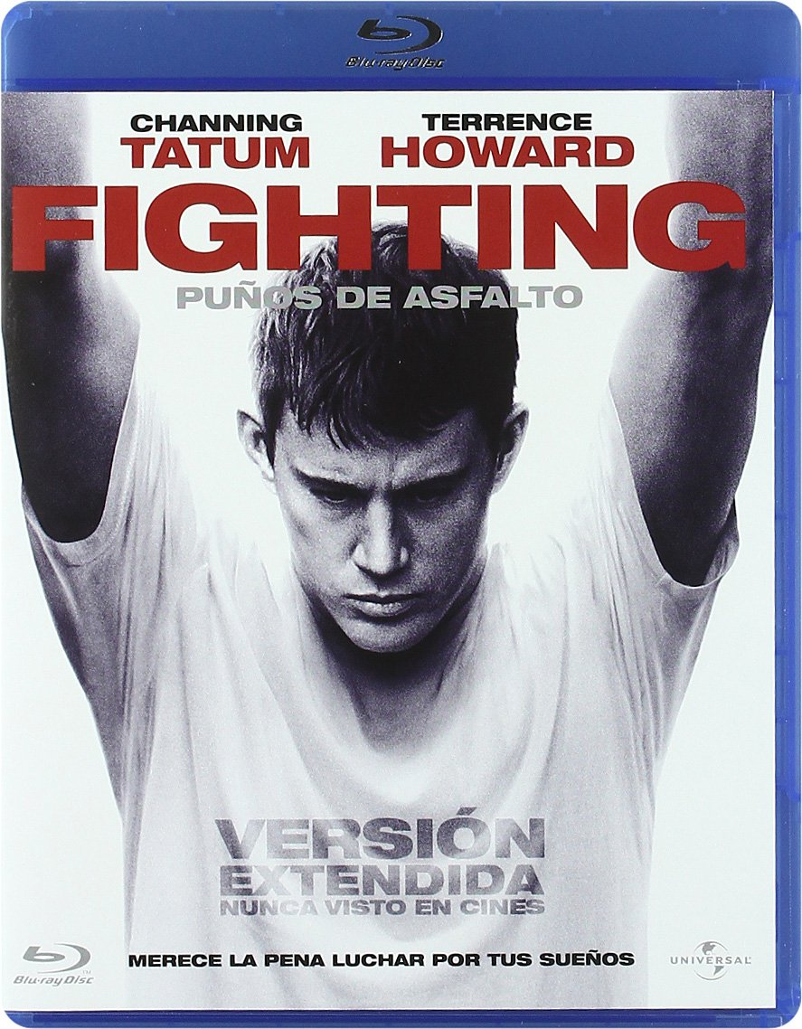 Fighting Puños De Asfalto Blu Ray Amazones Channing Tatum