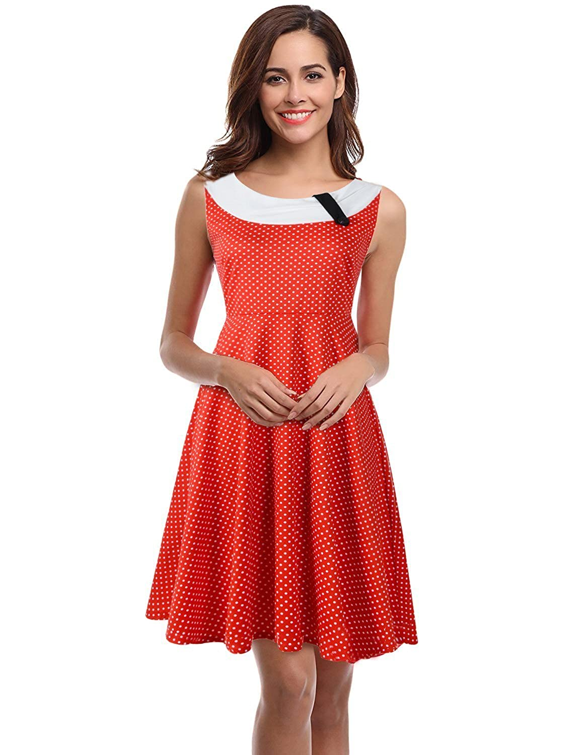 db6a47e0577f Top 10 wholesale 1950s Dresses Red - Chinabrands.com