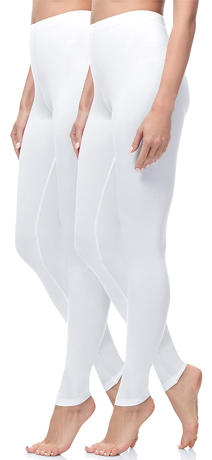 Merry Style Damen Lange Leggings 2 Pack MS10-143