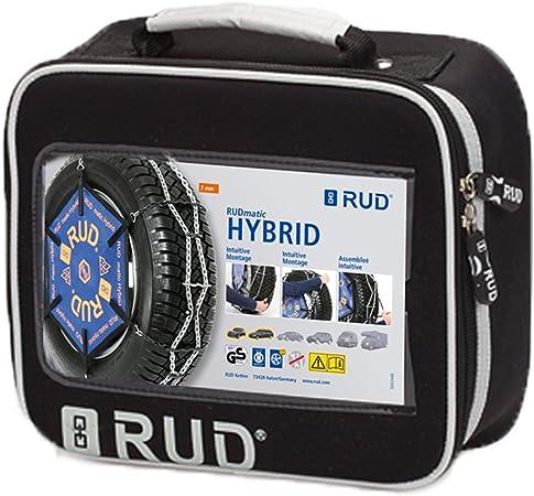 RUD 4717312 Cadenas de Nieve Hybrid Tama/ño H100 1 Par