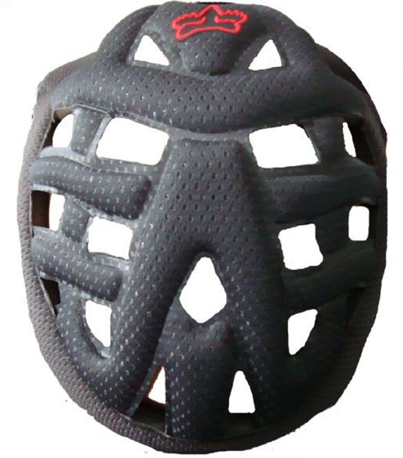 Fox Racing V4 Mx Helmet Comfort Liner Black Large