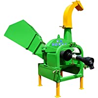 """NOVA TRACTOR BX52 Model 5"""" Wood Chipper Shredder, Cat I 3pt, for Tractor from 18 to 50HP"""