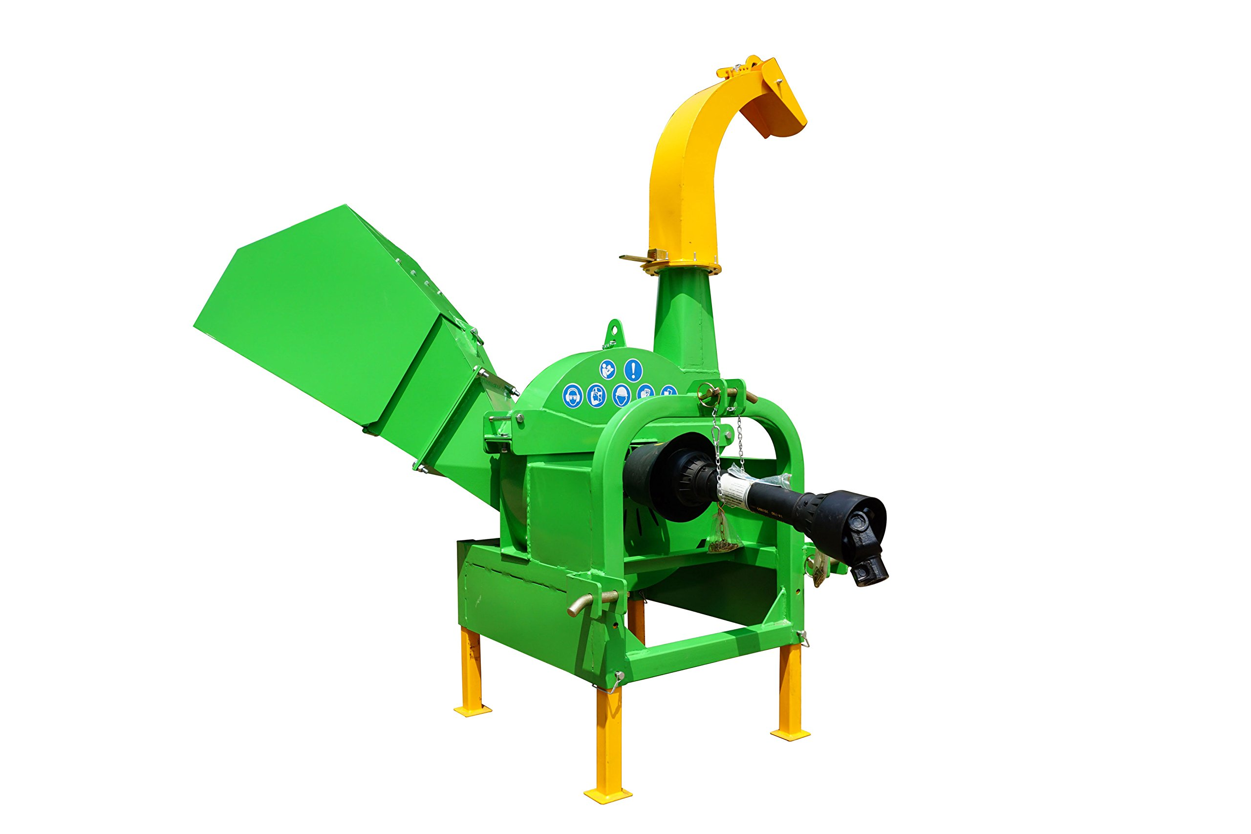 NOVA TRACTOR BX52 Model 5'' Wood Chipper Shredder, Cat I 3pt, for Tractor from 18 to 50HP