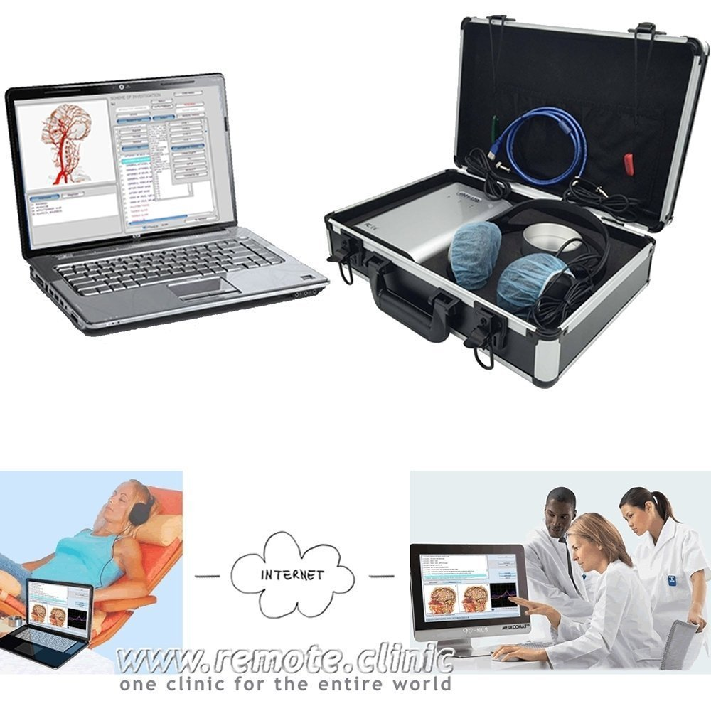 Advanced Diagnostics - Metatron Bioresonance NLS Health Diagnostics and Therapy System Medicomat-39 Computer USB Accessories by Medicomat