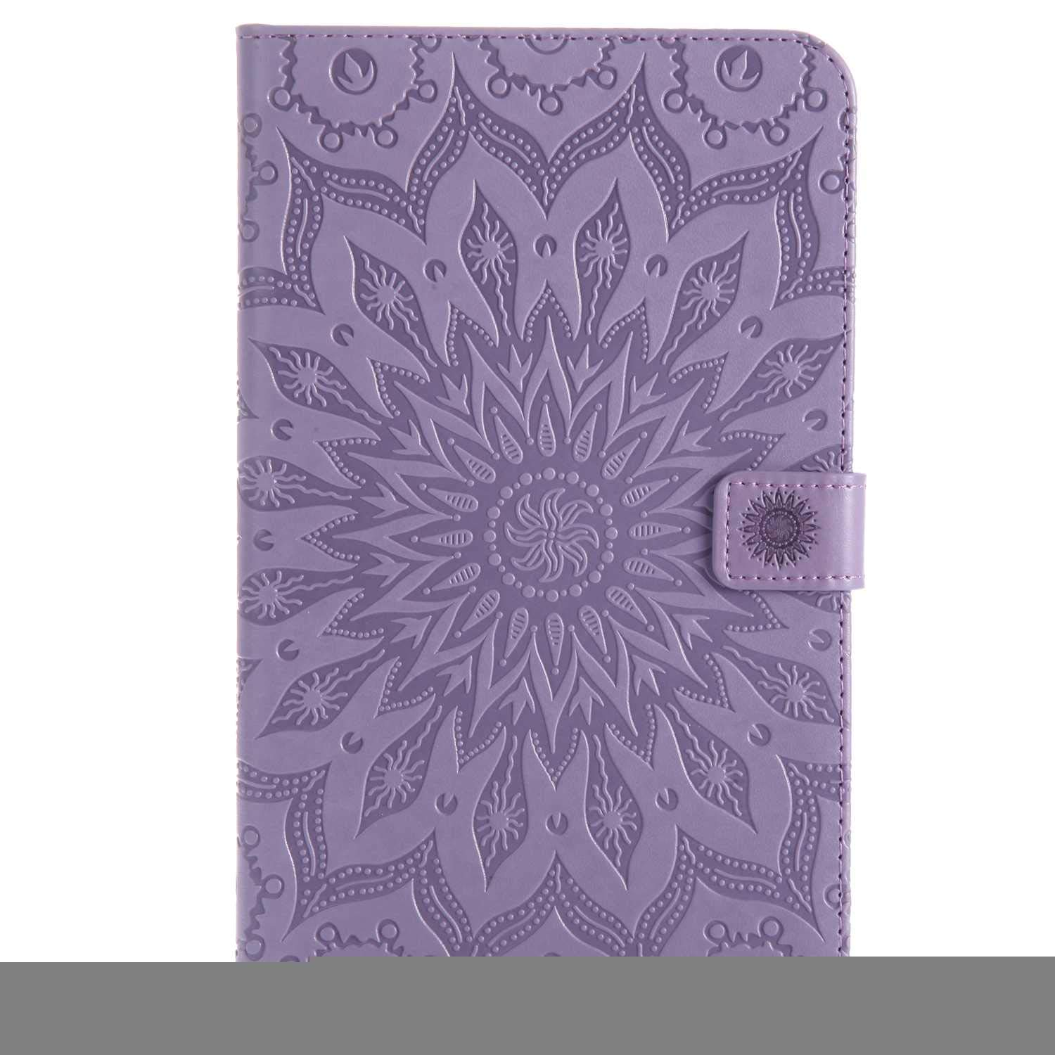Bear Village Galaxy Tab a 2017 8.0 Inch Case, Anti Scratch Shell with Adjust Stand, Full Body Protective Cover for Samsung Galaxy Tab a 2017 8.0 Inch, Purple by Bear Village