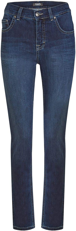 Angels Jeans, Damenjeans, Skinny,Dark used blue, Art.585, Sweat Denim, Fb.305 Dark Used