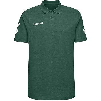 hummel Hmlgo Cotton Polo Camisa, Hombre: Amazon.es: Deportes y ...