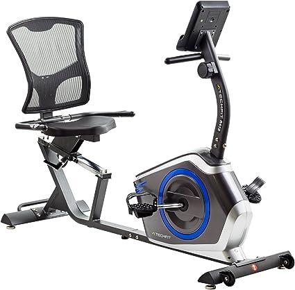 TechFit R410 Bicicleta Estática Reclinada, Ideal para el ...
