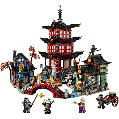 LEGO Ninjago Temple of Airjitzu 70751: Toys & Games