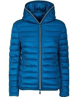 c31665d175e4 Save The Duck Women's Iris Winter Coat Brown Black 2-M at Amazon ...