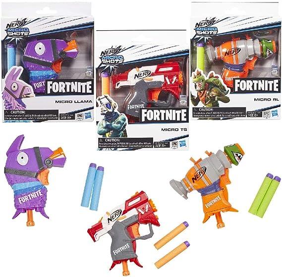 Hasbro-E6741EU40 Nerf Fortnite Pistola lanzadardos 21x16cm, Multicolor (E6741EU40): Amazon.es: Juguetes y juegos