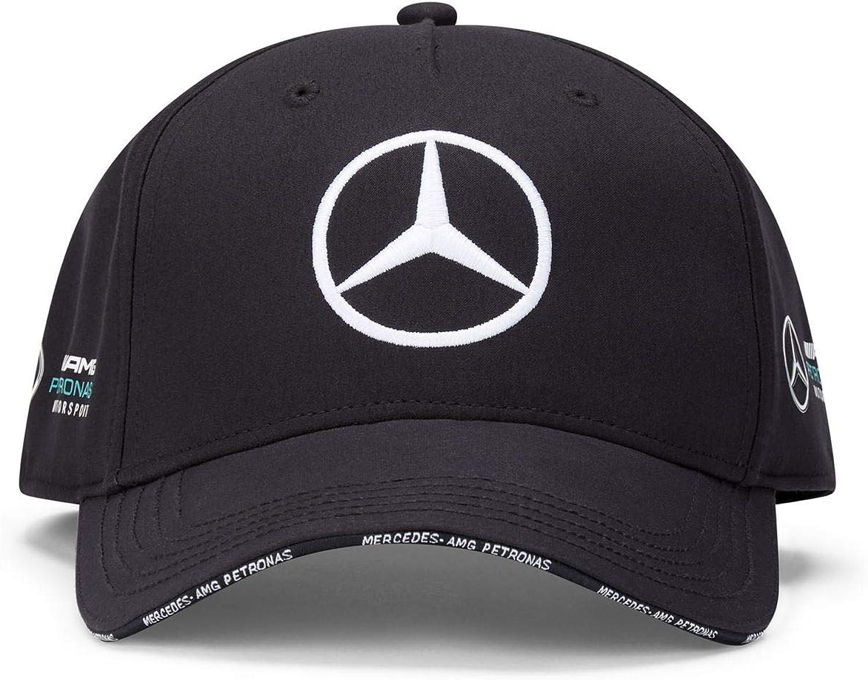 Fuel For Fans Mercedes Benz AMG Petronas F1 2020 Team Baseball Hat Black//White