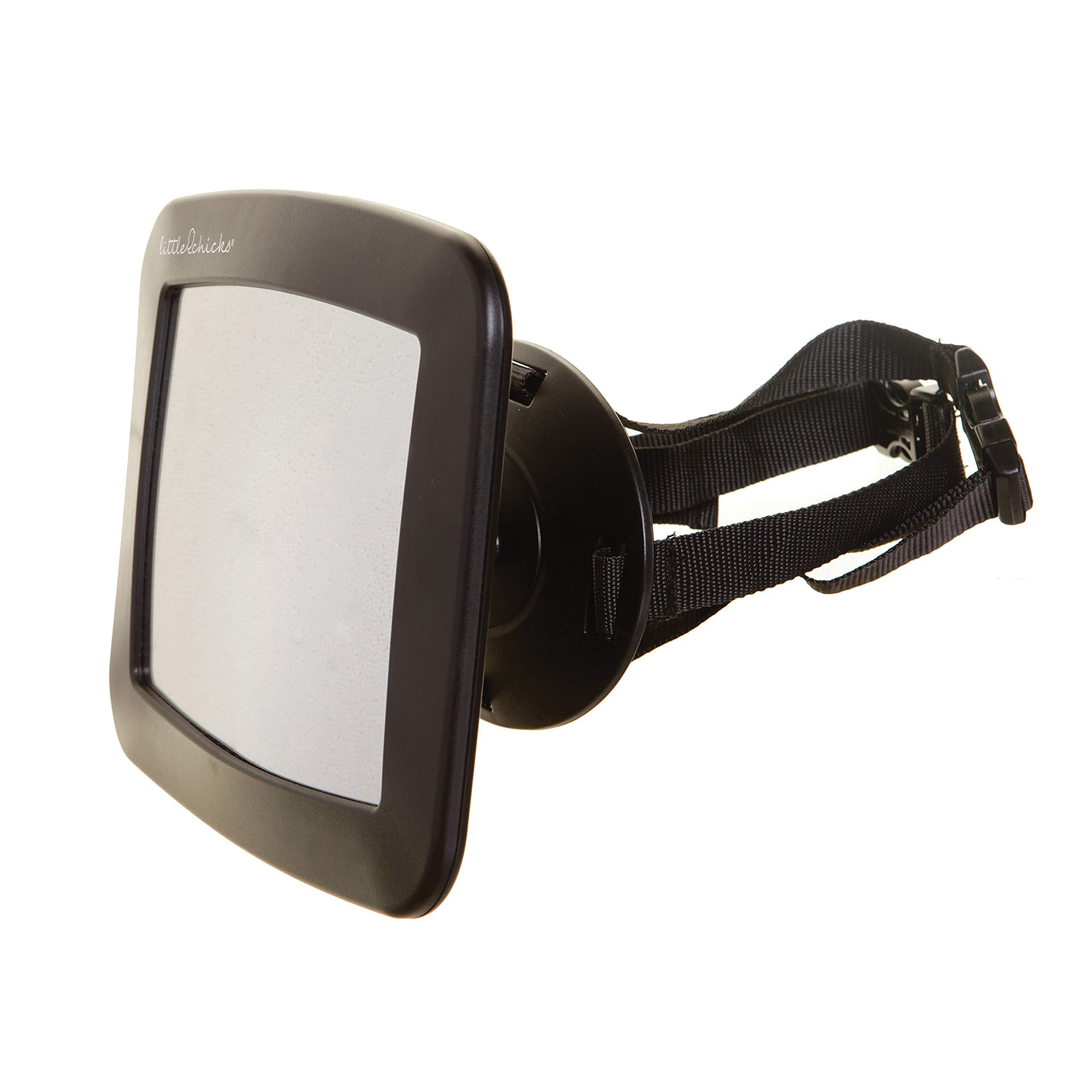 Little Chicks Adjustable Mirror for Rear Facing Car Seats with Securing Dial by Little Chicks