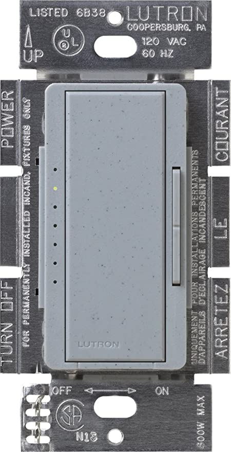 Lutron Maestro C.L Dimmer Switch for Dimmable LED, Halogen ...