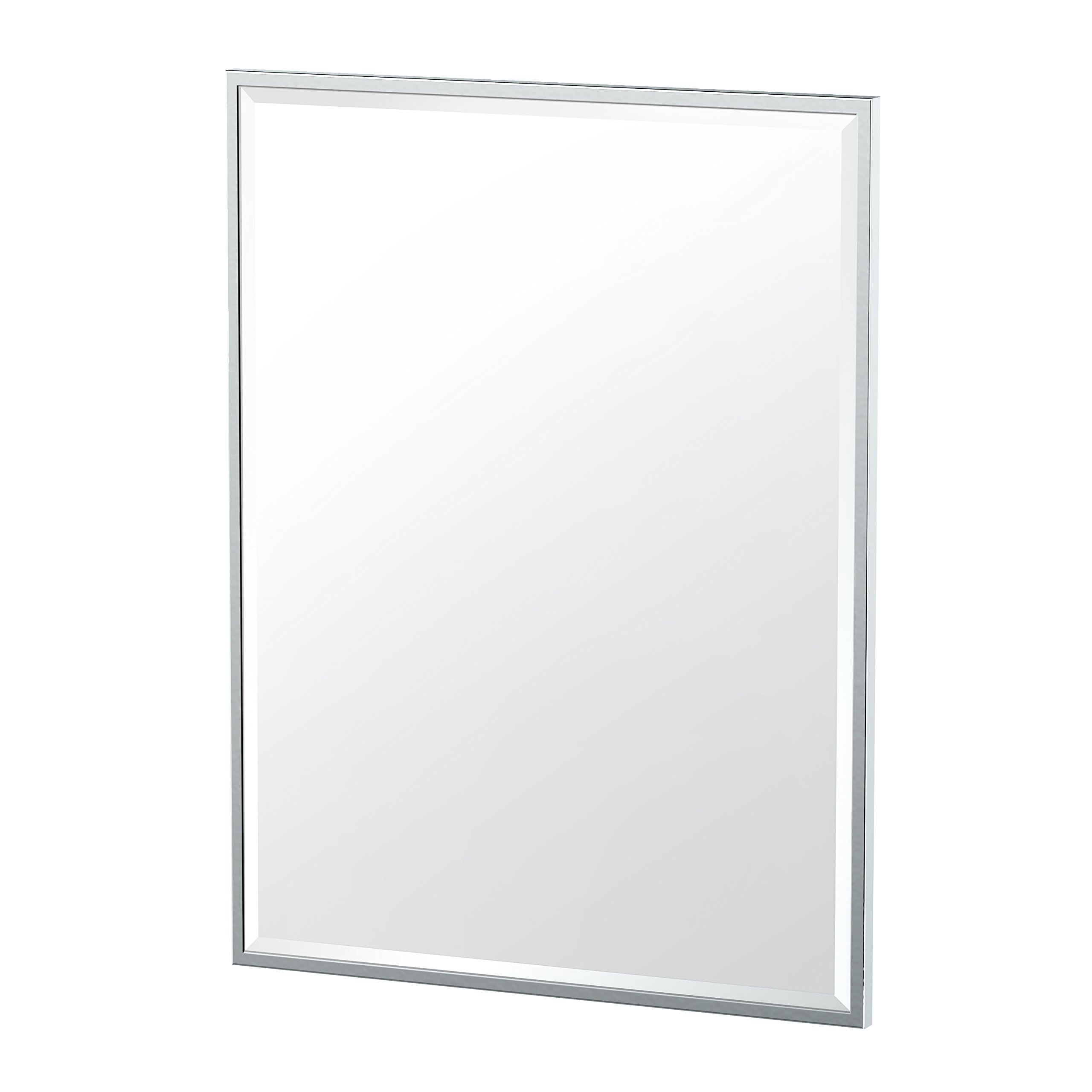 Gatco 1822 Flush Mount Framed Rectangle Mirror, 32.5'', Chrome by Gatco