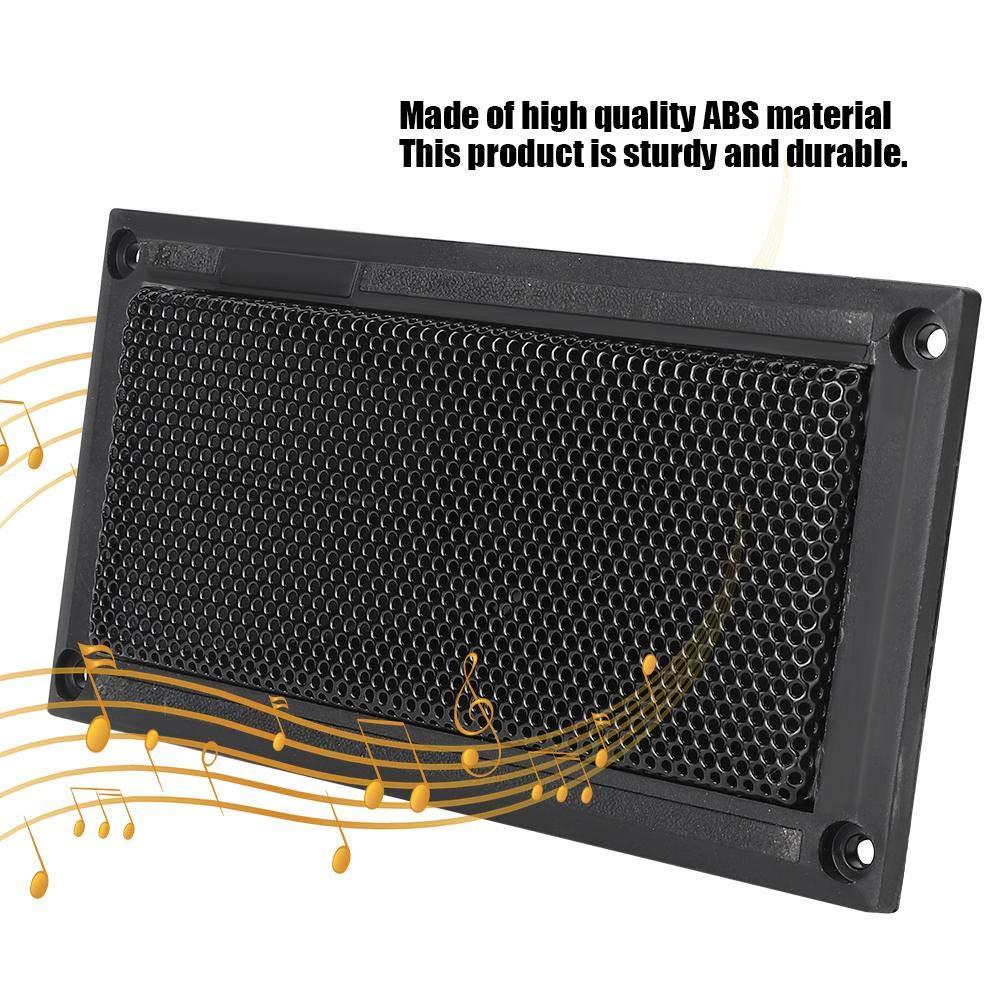Tweeter Loudspeaker zumbador de boci excelente tecnolog/ía frecuencia de 5-20 kHz zumbador incorporado 2 piezas de tweeter piezoel/éctrico rectangular altavoz de escenario profesional bien sellado