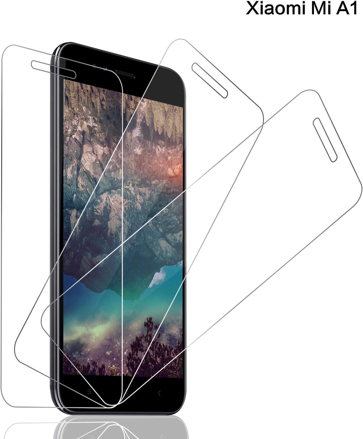 SNUNGPHIR® Cristal Templado Xiaomi Mi A1, [3-Pack] Protector ...