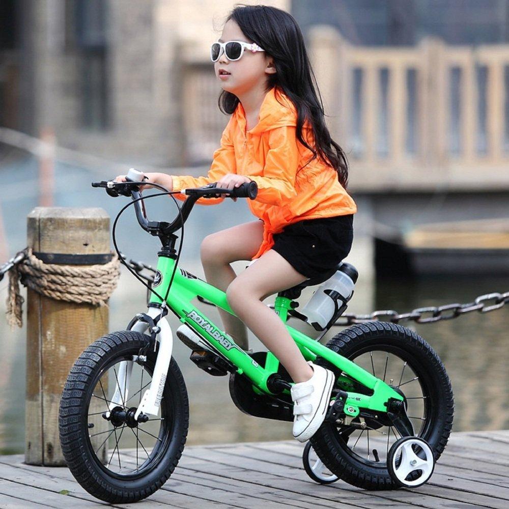 Bicyclehx Bewegung Offroad Kinder Fahrrad mit Wasserflasche und Halter Royal Baby Kids Bikes mit Stabilisatoren in Gr/ö/ße 12 14 16 18